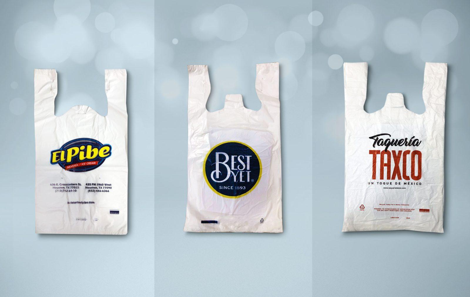 T-shirts bags